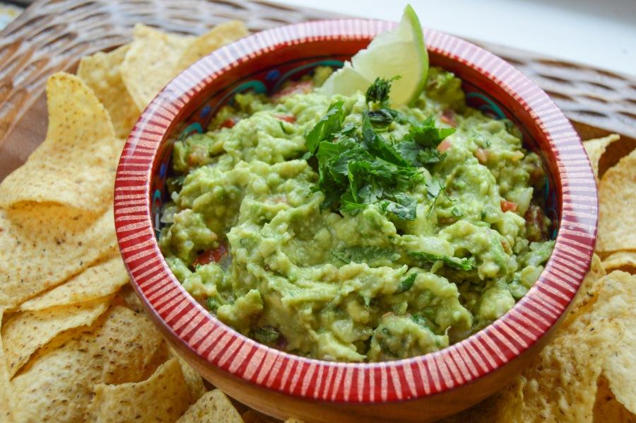 Simple Guacamole - Appetizer