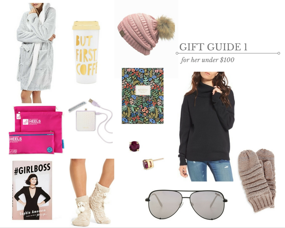 gift guide for her under $100